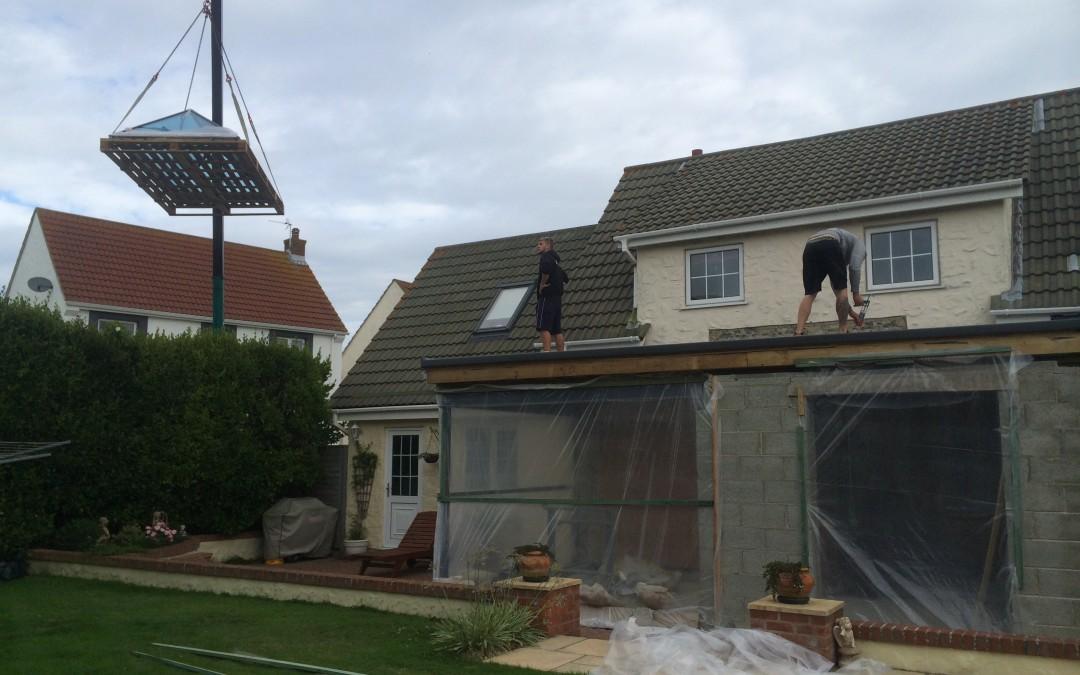 new roof lantern